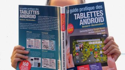 Sortie du « Guide pratique des tablettes Android »