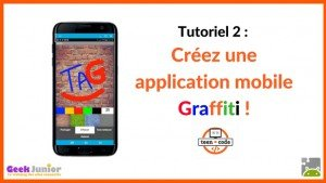 Tutoriel création d'application mobile Graffiti sur Android