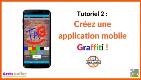 Tuto : crée une application mobile Graffiti !