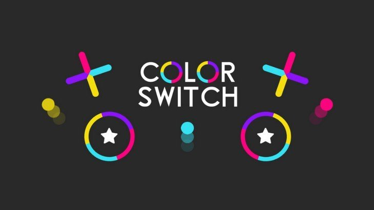 Le jeu mobile du jour : Color Switch (Android, iOS)