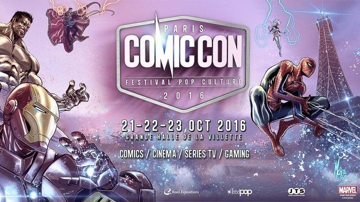 Comic Con Paris 2016 : c'est parti avec Doctor Strange et Luke Cage