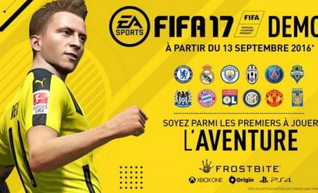 FIFA 17 : la démo disponible sur PC, Xbox One et PS4 !