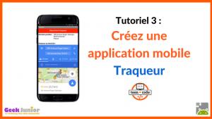 Tutoriel Créez une application mobile Traqueur