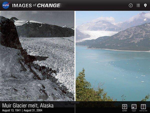 Images-of-change Nasa App