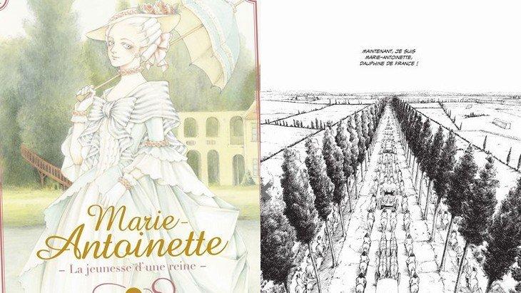 Marie-Antoinette, la jeunesse d'une reine : un manga historique à ne pas rater