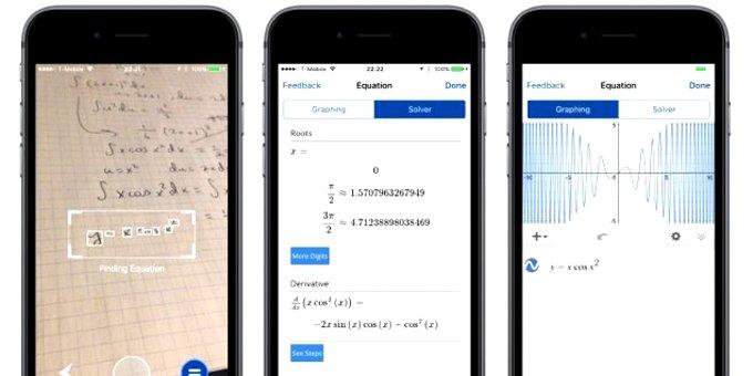 Mathpix pour Android et iOS