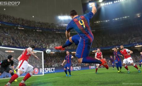 PES 2017 est disponible sur PC, PS4, PS3, Xbox One et Xbox 360