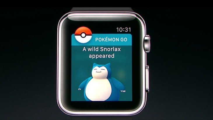 Pokemon Go sur la nouvelle Apple Watch Series 2  !
