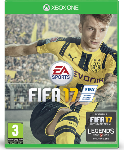 FIFA 17 Reus jaquette