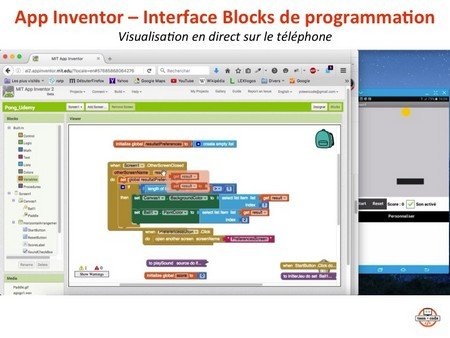 App Inventor - interface