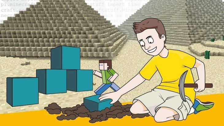«Apprendre à coder en Python avec Minecraft» dispo en librairie le 8 septembre
