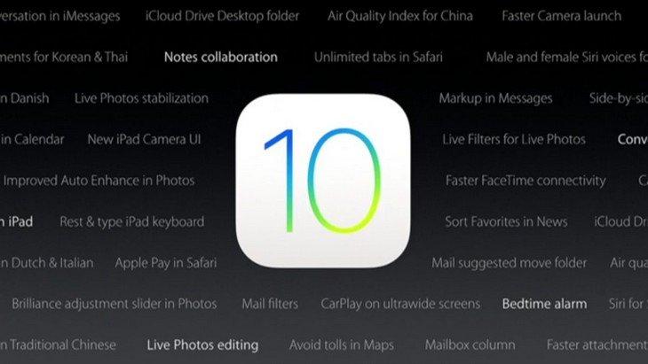 iOS 10 disponible : ce qu'il faut savoir avant de le télécharger
