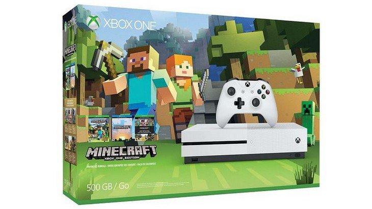 Xbox One S : après FIFA 17 et Battlefield 1, Minecraft est offert dans un bundle