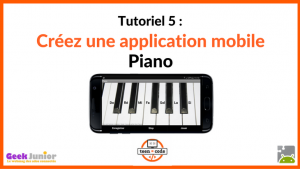 Tuto application mobile Piano
