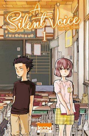 A silent voice vol.1 manga