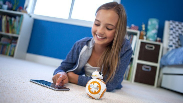 Apprends à coder avec le droïde BB-8 de Sphero !
