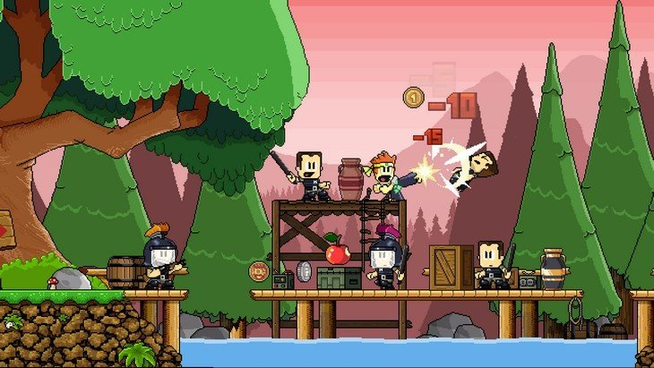 Le jeu mobile du jour : Dan The Man (Android et iPhone)