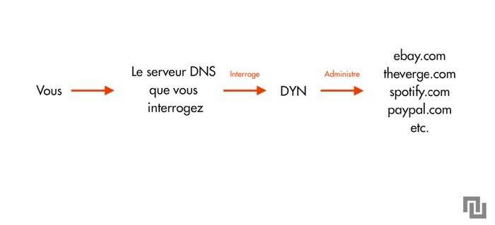 Explication Dyn sur le site de Numérama