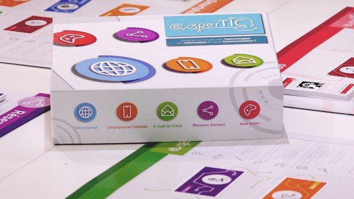 E-xperTIC : le jeu de plateau sur les usages du numérique