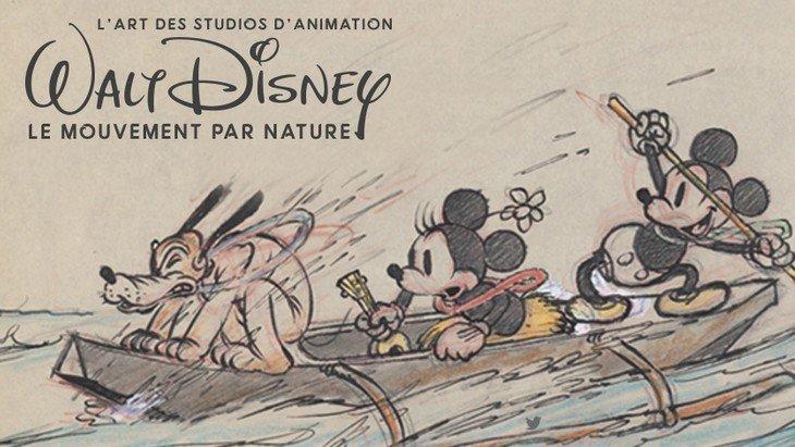 Les dessins de Disney s'exposent au Musée Art Ludique à Paris