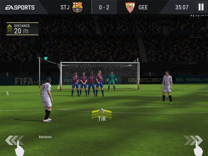 FIFA Mobile 2017 - Gameplay