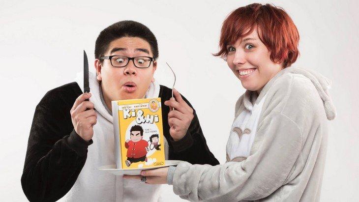 Ki & Hi, le manga du youtubeur Kevin Tran (Le Rire Jaune) cartonne