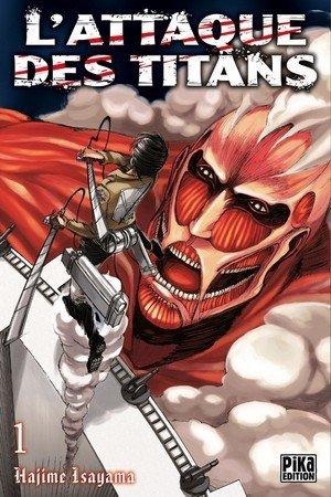 L'attaque des titans - vol.1 manga
