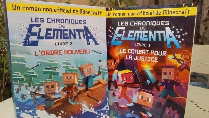Les Chroniques de Elementia : la saga d'aventure inspirée de Minecraft dispo en poche
