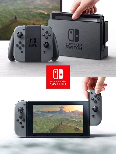 Nintendo Switch officiel