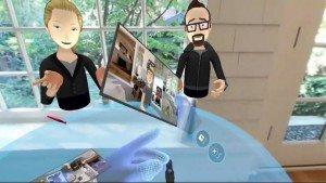Oculus Rift démo - screenshot
