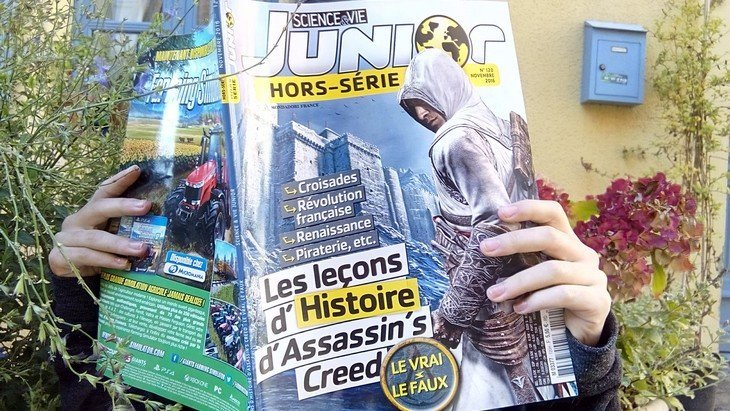 Science & Vie Junior revisite l'Histoire avec Assassin's Creed