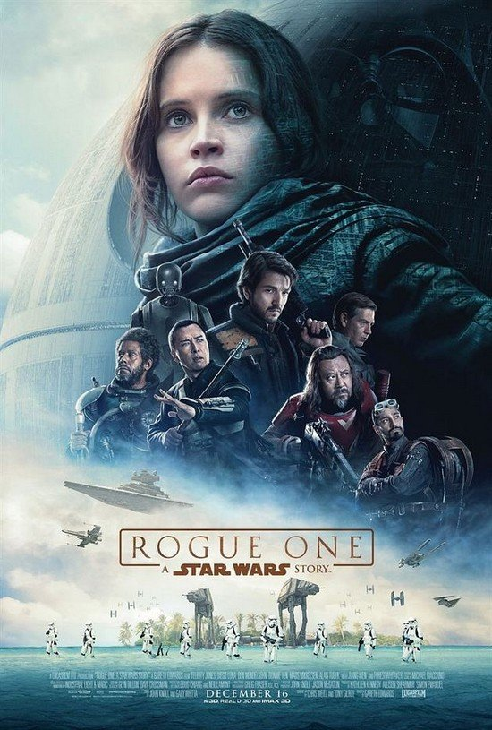 Star Wars Rogue One - affiche officielle