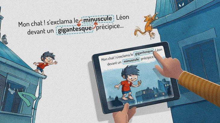 «SwapTales: Léon !» : un jeu-livre génial sur iPad et Android