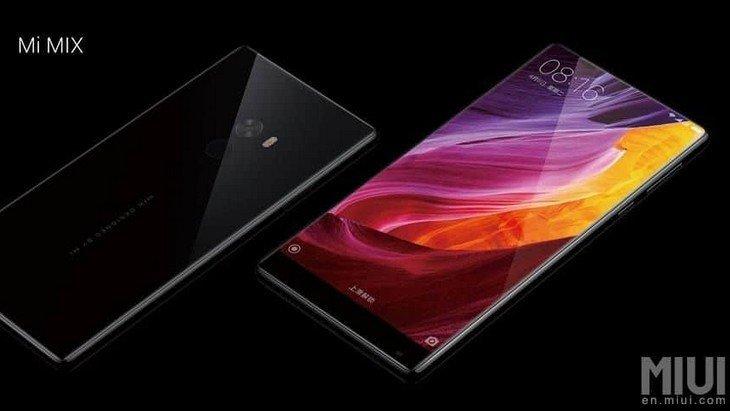 Xiaomi Mi Mix : un smartphone au design futuriste