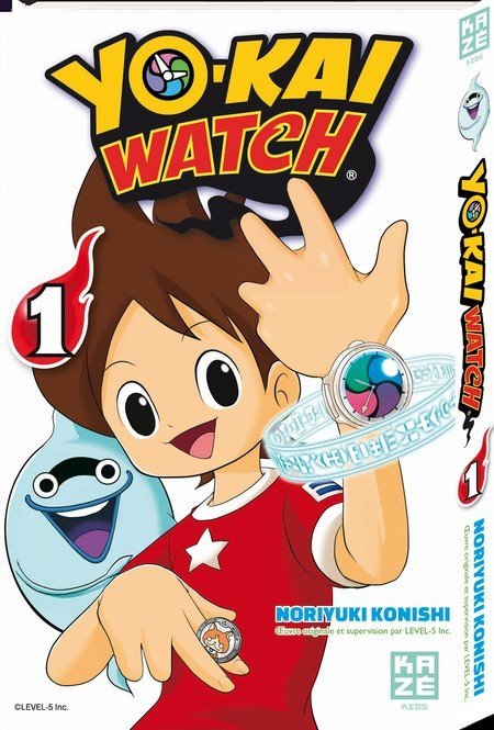 yo-kai watch manga vol 1