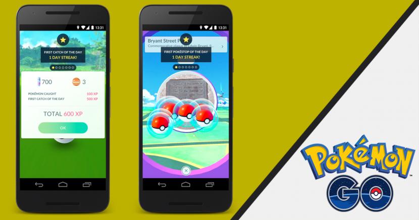 Pokémon Go : les bonus quotidiens arrivent dans une mise à jour