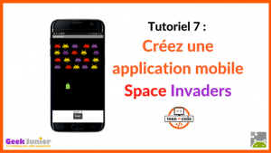 Tutoriel application mobile Space Invaders