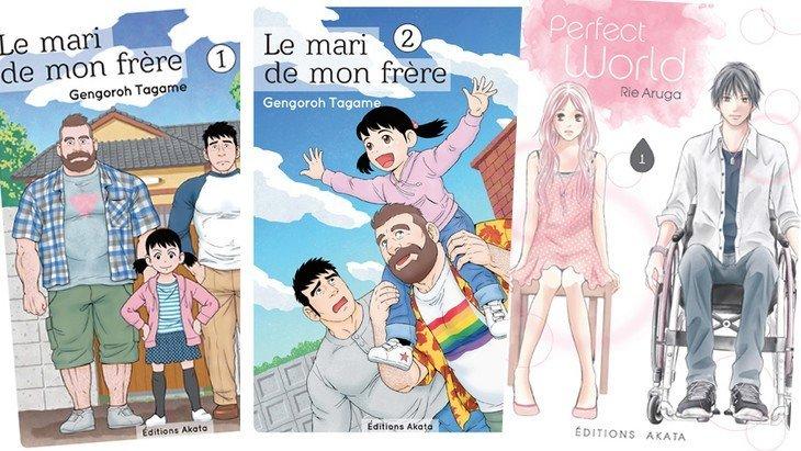 Perfect World / Le mari de mon frère : deux mangas au-delà des préjugés