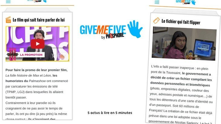 Give me Five by Phosphore