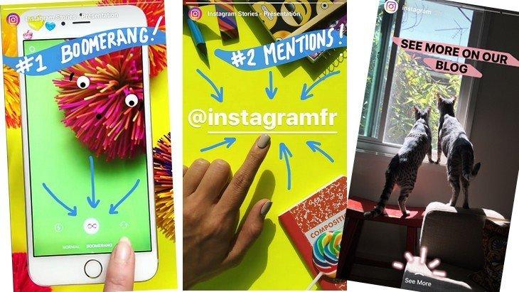 Instagram ajoute 3 nouveautés aux «stories»
