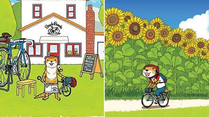 «Les petits vélos» : la passion du vélo version manga !
