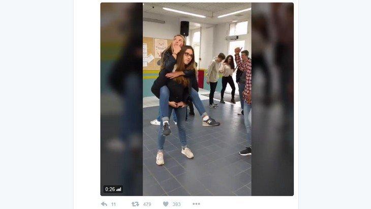Le défi #MannequinChallenge arrive aussi dans les lycées !