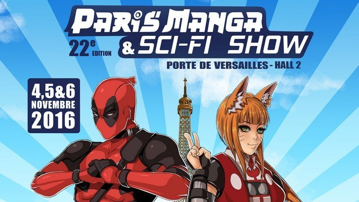 Paris manga sci fi show le salon manga du 4 au 6 for Salon a paris porte de versailles