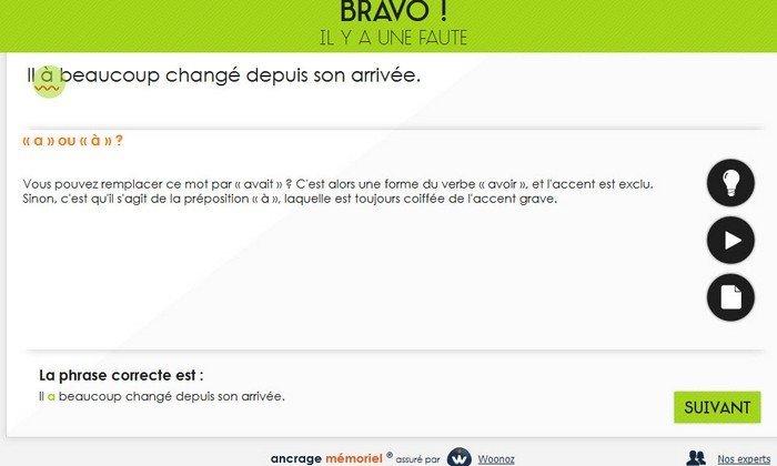 Projet Voltaire version Web