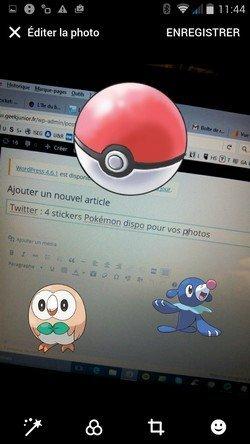 Twitter Pokemon autocollants