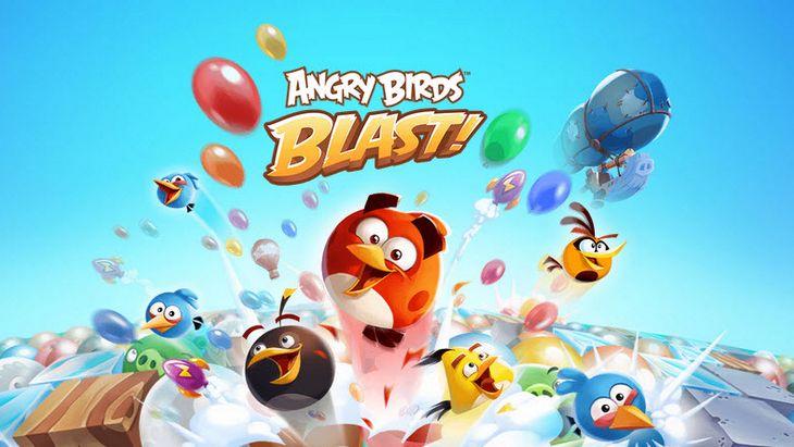 Angry Birds Blast : un nouveau jeu Angry Birds pour Noël !