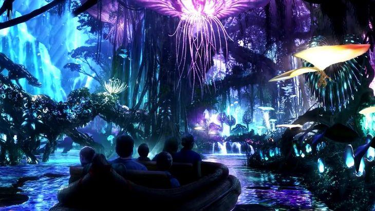 Découvre des images étonnantes du Parc Avatar de Disney