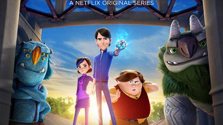 La série animée Chasseurs de Trolls dispo sur Netflix !