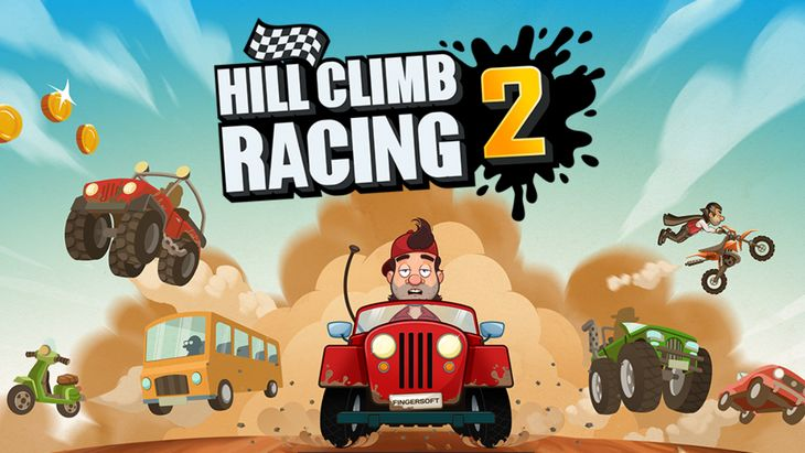 Le jeu mobile du jour : Hill Climb Racing 2 (App Store, Google Play)