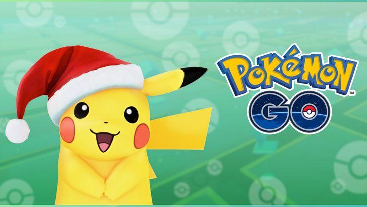 Pokémon Go : Pikachu fête Noël avec aussi de nouveaux Pokémon !